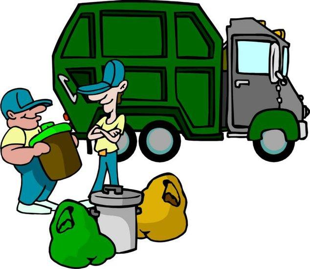 Image result for trash pickup