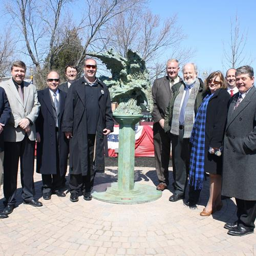 Click to view album: Unveiling of the Guardian Angel Memorial - March 28, 2015