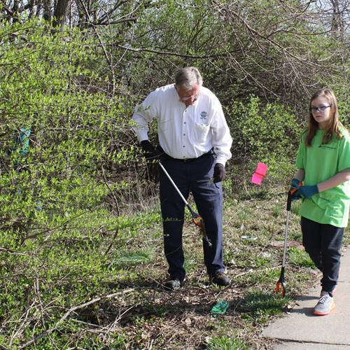 Click to view album: Fort Wright Clean Up Day - April 6, 2019