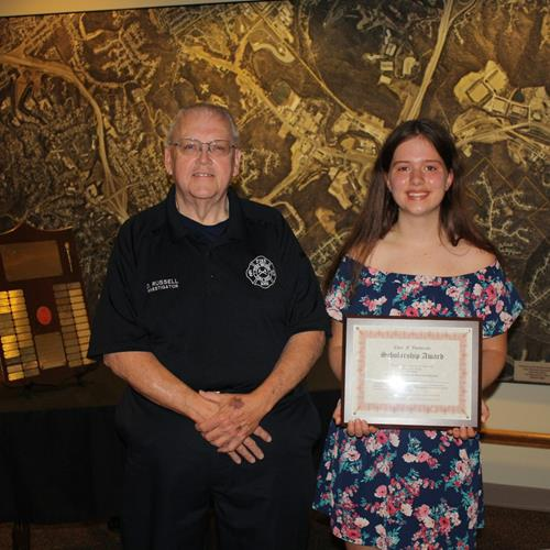 Click to view album: Charles F. Vonderahe Scholarship Award - July 20, 2020